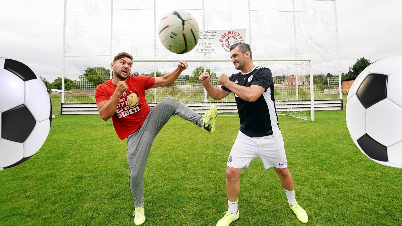 Porazil jsem Fotbalovou Legendu? | Tary vs. Martin Fenin