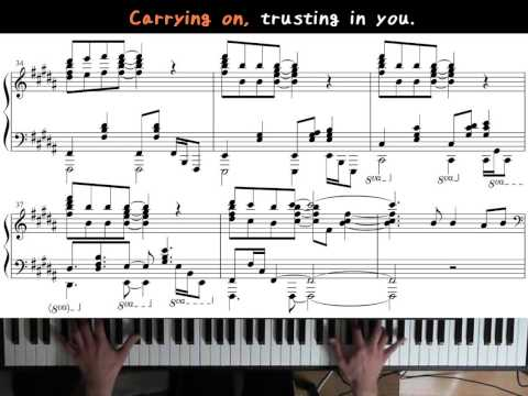 JW Broadcasting (April 2015) - Never Give Up (Piano)