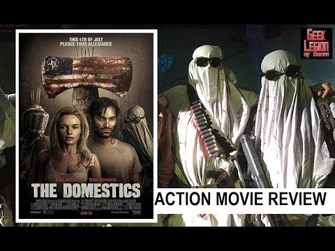 THE DOMESTICS ( 2018 Kate Bosworth ) Post Apocalypse Sci-Fi Action Movie Review