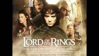 The Lord Of The Rings OST - The Fellowship Of The Ring - The Road Goes Ever On... Pt. 1