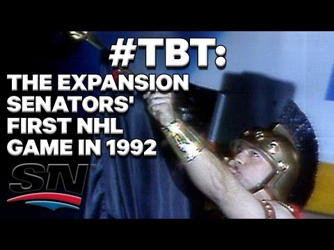 #TBT: The Ottawa Senators' first NHL game in 1992