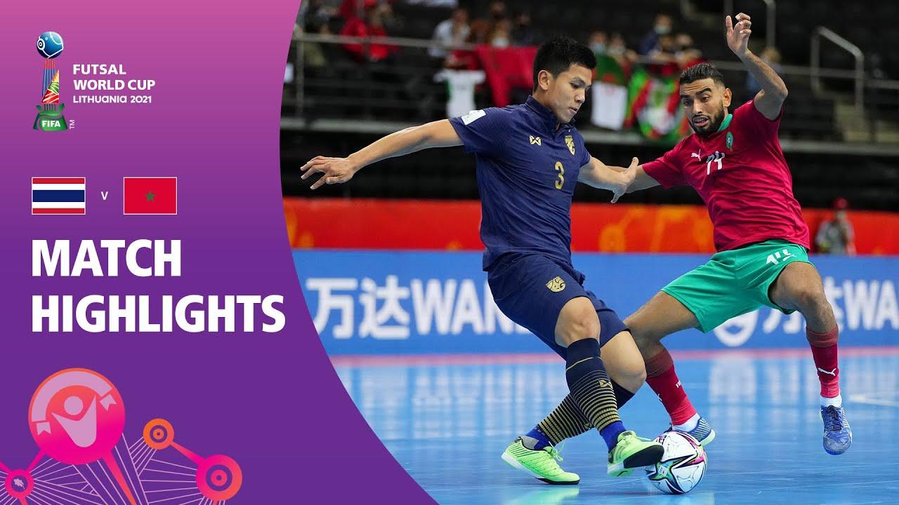 Download Thailand v Morocco   FIFA Futsal World Cup 2021   Match Highlights