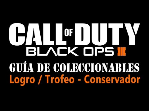 Call of Duty: Black Ops 3 - Guía de Coleccionables - Logro / Trofeo Conservador (Curator)