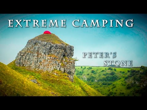 EXTREME WILD CAMP - Peak District Peter's Stone with Hilleberg Soulo