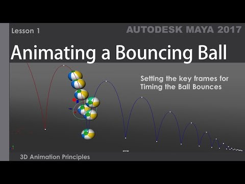 Animating a Bouncing Ball - Lesson 1