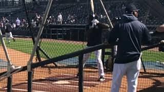 Yankees' Estevan Florial's BP in slow motion