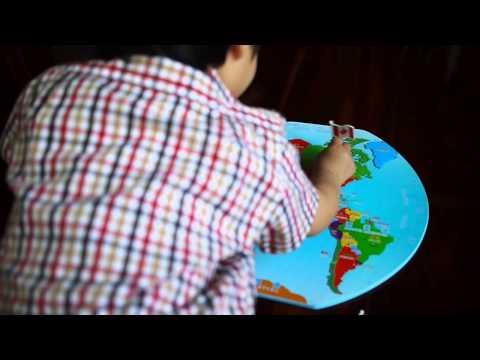 ของเล่นใหม่ (แผนที่โลกกับธงประเทศต่างๆ) (3y3m)