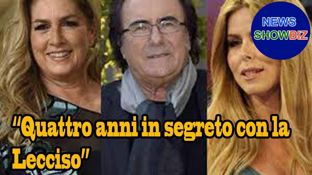 """Al Bano confessa: """"Quattro anni in segreto con la Lecciso"""". E su Romina cambia idea"""