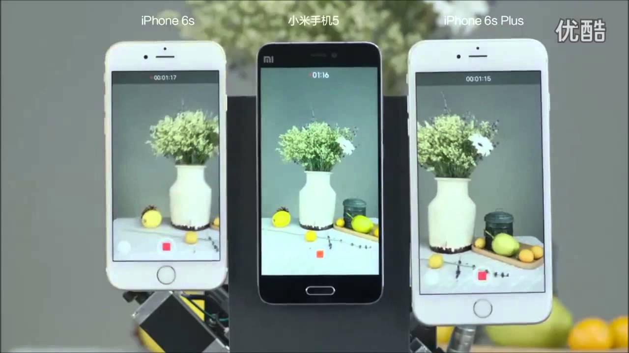 XIAOMI MI5 VS IPHONE 6S PLUS