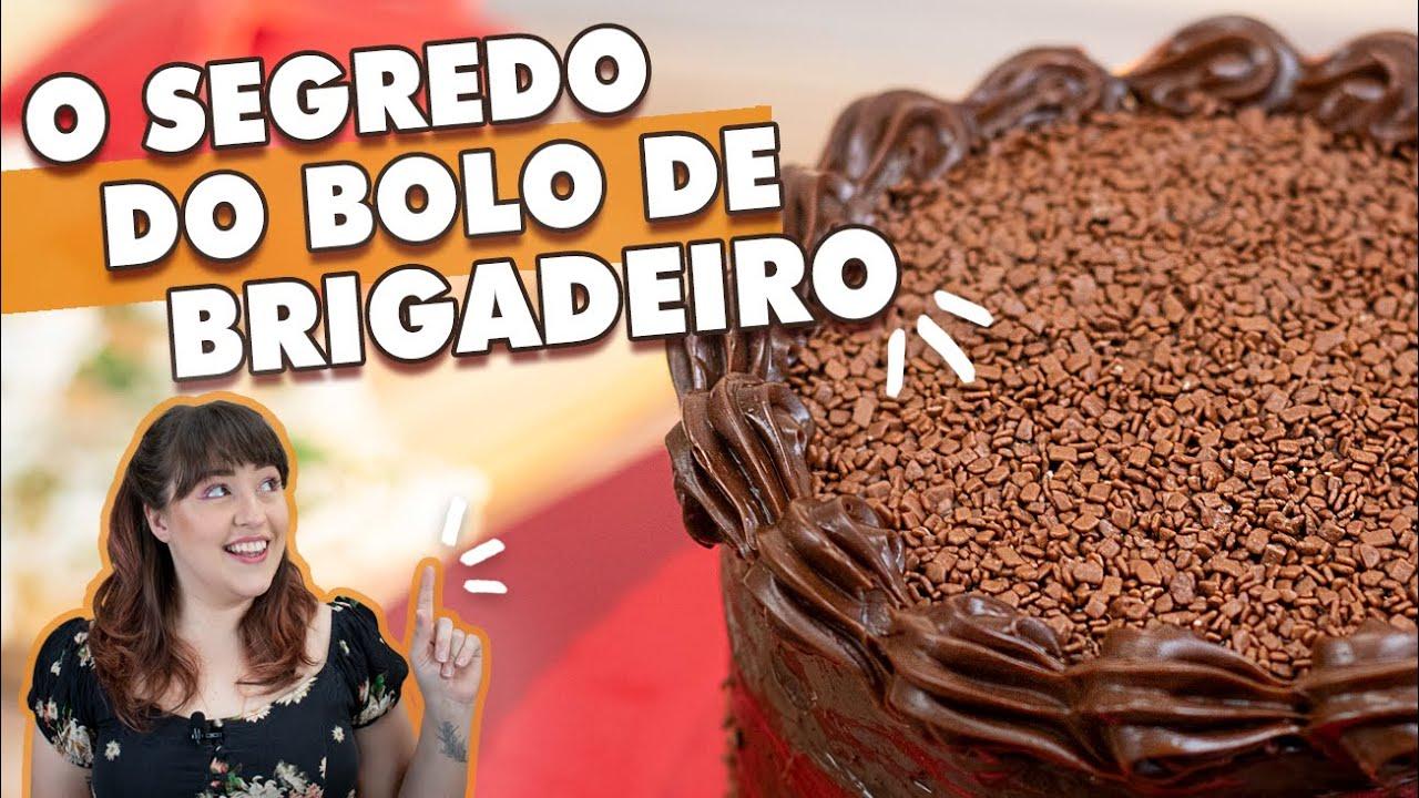 BRIGADEIRO EM PONTO DE BICO - Recheio, Cobertura e Decoração | Tábata Romero