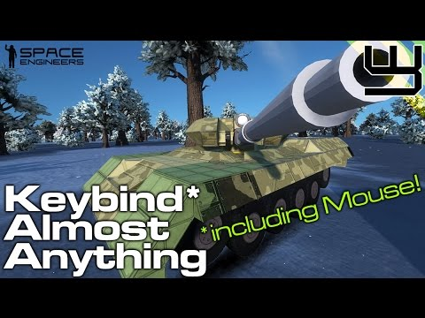 Space Engineers - Keybind Almost Anything with Digi's Control Module, including mouse!