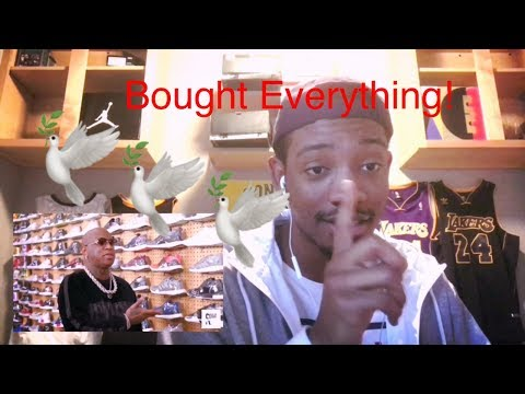 BOUGHT ALL THE YEEZYS IN THE STORE!!!! BIRDMAN SHOE SHOPPING REACTION!