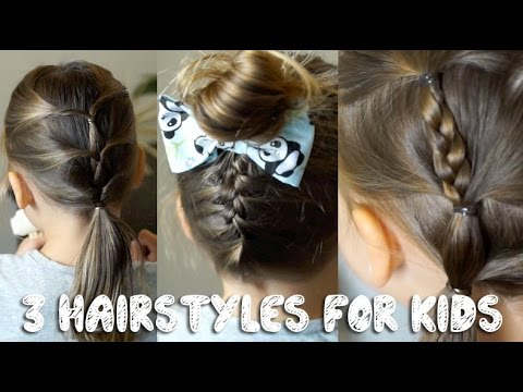 Cute Hairstyles For Little Girls Youtube