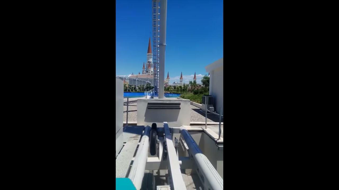 Theme Park The Land of Legends. Американские горки