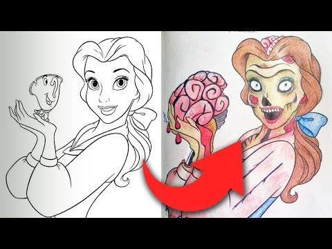 Childrens Coloring Books Ruined By Adults
