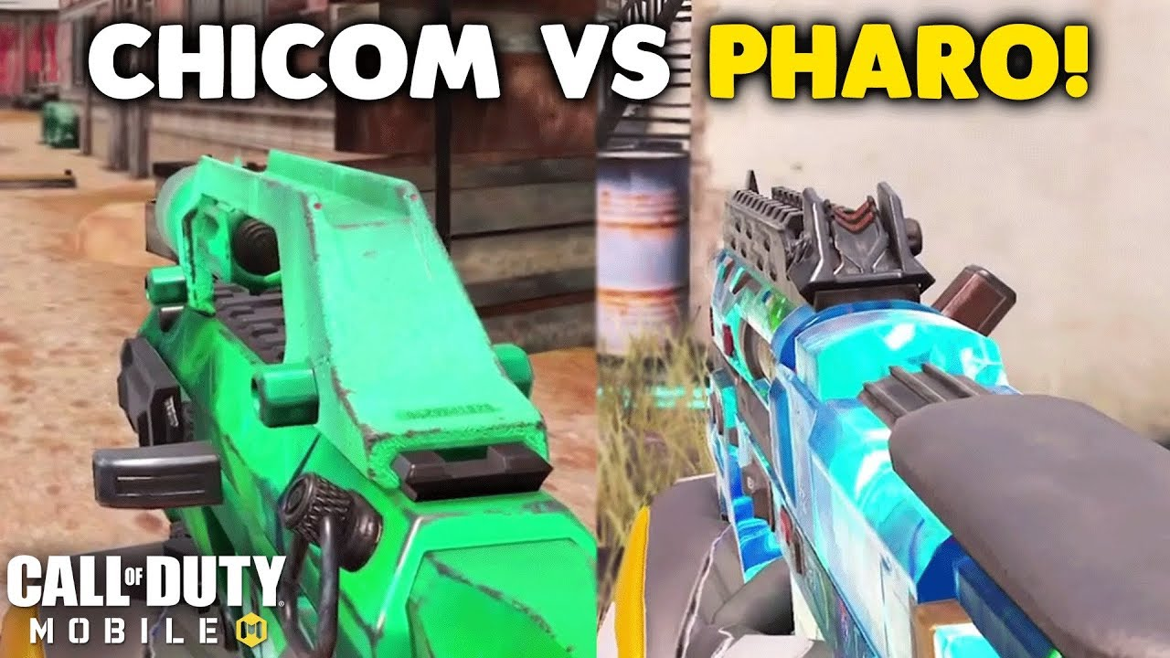 PHARO vs CHICOM - Which is Better? | Call of Duty: Mobile Versus #1 thumbnail