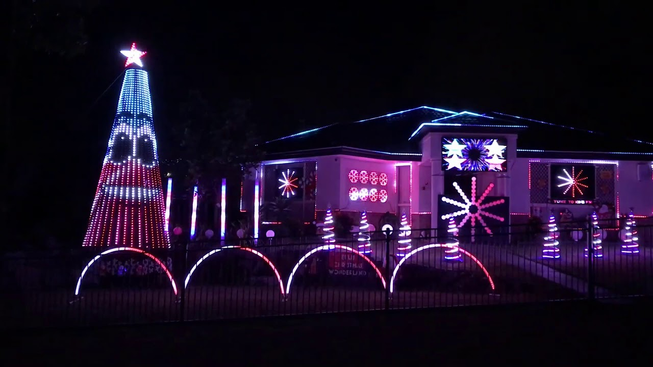Ellis Christmas Wonderland Greatest Show 2018 Gold Coast Lights
