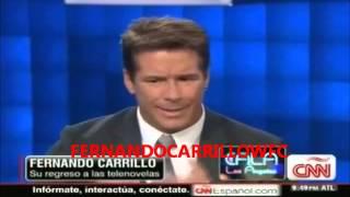 Fernando Carrillo habla con cariño de Catherine Fulop y de su hermoso hijo Angel (5)