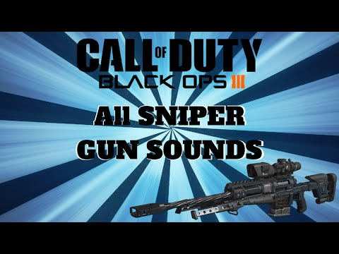 Black Ops 3 ALL SNIPER GUN SOUNDS (+DOWNLOAD LINK)(FOR EDITORS)