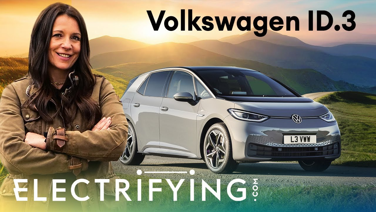 Volkswagen ID.3 2021: In-depth review with Ginny Buckley / Electrifying