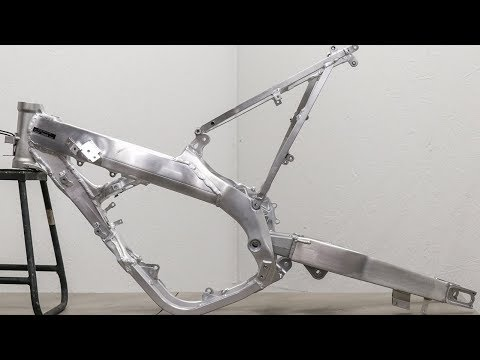 How Did I Get This CR250 Frame Looking New Again?