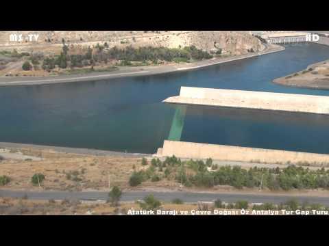 Atatürk Barajı ve Çevre Doğası Öz Antalya Tur Gap Turu Nature of the Ataturk Dam