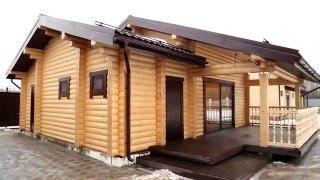 видео строительство деревянных домов под ключ