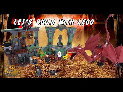 Let's Build with Legos! | The Hobbit | The Lonely Mountain