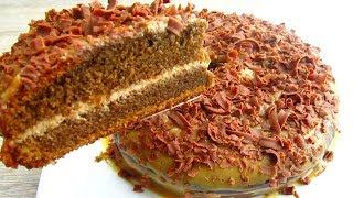 Торт Кофейный Обалденно Вкусный!!! Cake Coffee Unusually delicious