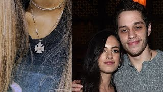 Pete Davidson DENIES Giving Ex Cazzie David Late Father's Necklace Before Ariana