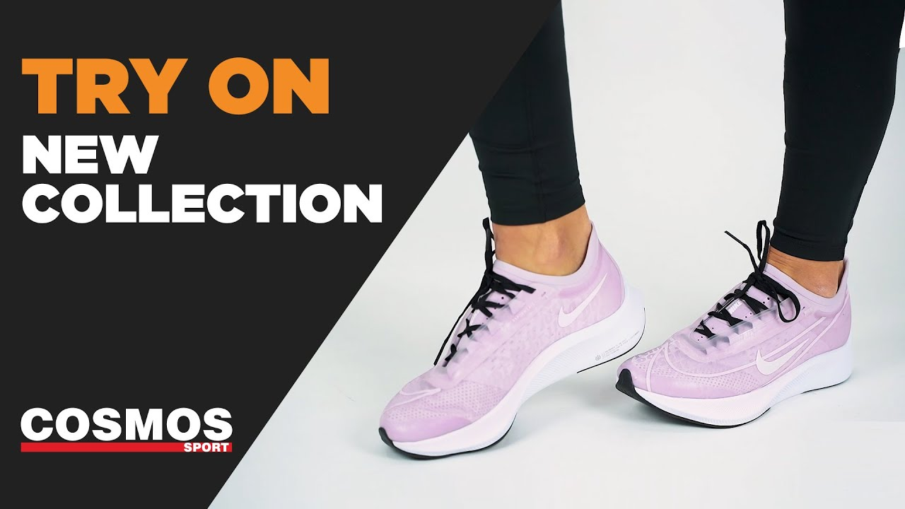 NIKE ZOOM FLY 3 W ICED LILAC LIGHT VIOLET WHITE BLACK