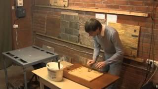 Производство искусственного декоративного камня из цемента(, 2013-07-03T19:03:21.000Z)