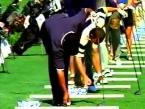 NIKE   GOLF Ad, DRIVING RANGE with TIGER WOODS