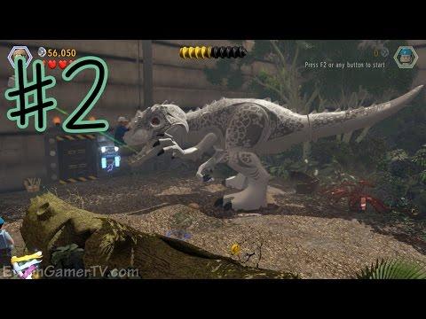 Ethan plays LEGO: Jurassic World (#2)