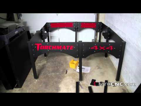Torchmate CNC Plasma 4x4 Arrived! Unpacking and Assembly