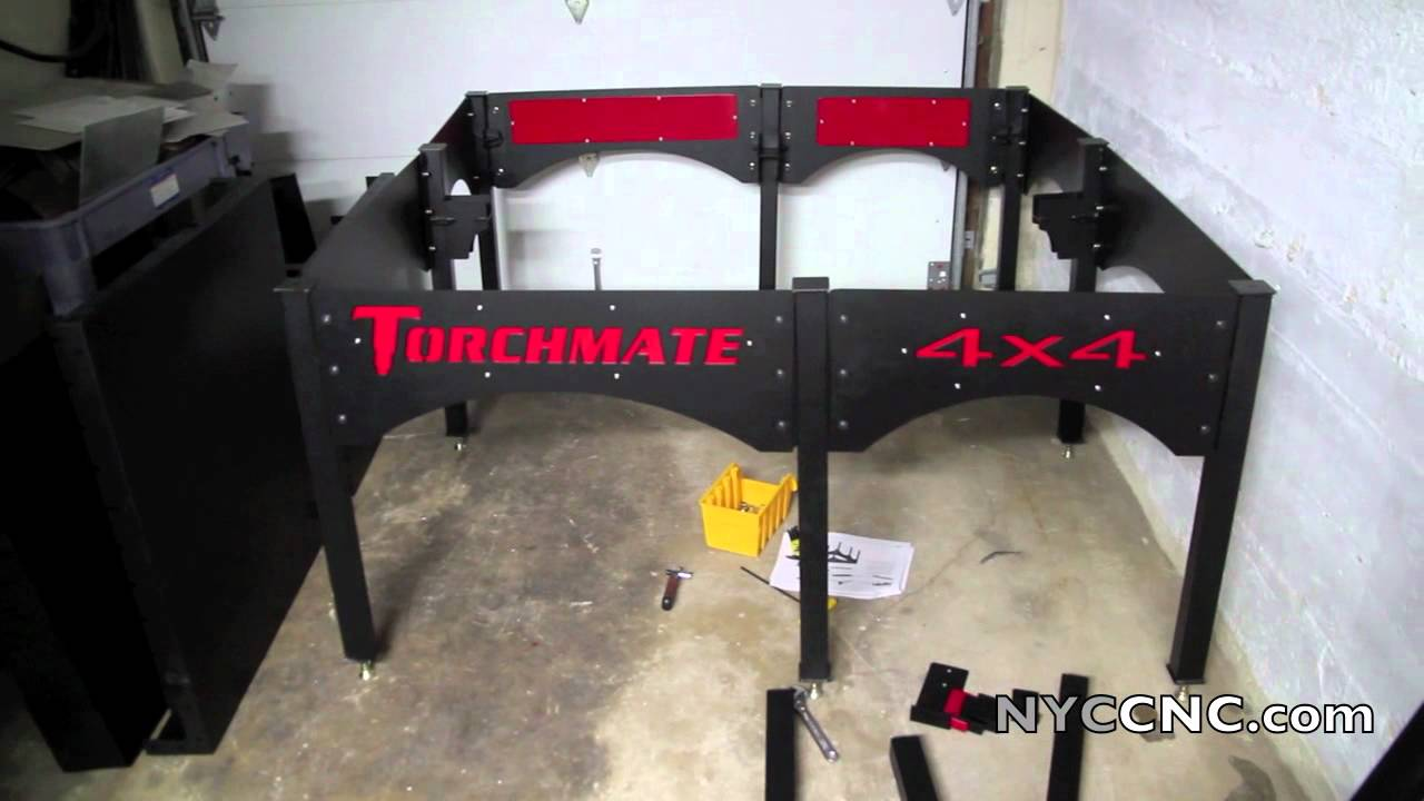 Torchmate Cnc Plasma 4x4 Arrived Unpacking And Assembly