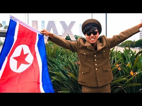 North Korean Visit America for the First Time