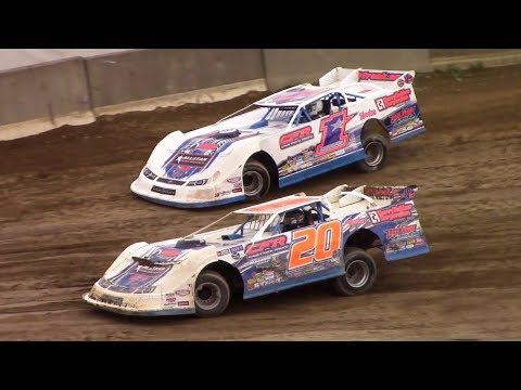Super Late Model Heat One | Old Bradford Speedway | 8-13-17