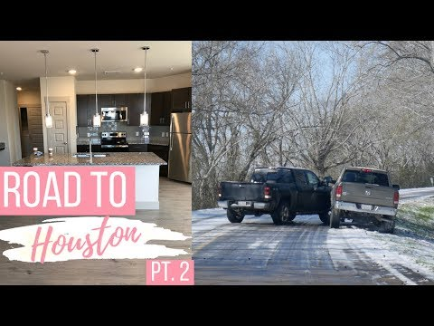 ROAD TO HOUSTON PT. 2 || Scariest Road Trip & Looking for Apartments