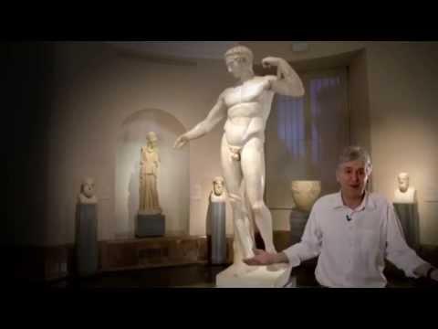 Juan Luis Arsuaga explica la evolución del cuerpo humano con 'El Diadúmeno' de Policleto