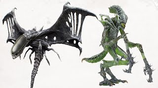 TOP 10 Rare And Exotic XENOMORPH TYPES