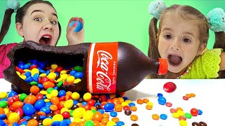 Ruby and Bonnie Chocolate & Soda Challenge