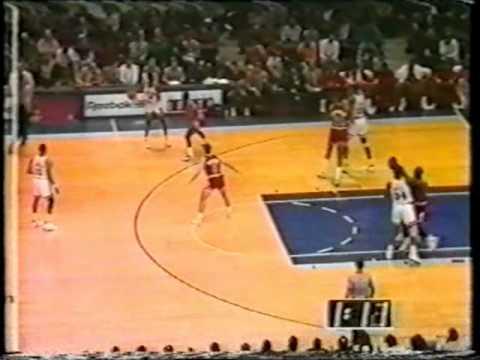 Patrick Ewing (33pts/12rebs/5asts/8blks) vs. Bulls (1990)
