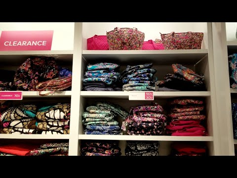 Vera Bradley CLEARANCE Rack ~ 70% Off! SALE Outlet Price 50% Plus  Additional 30%! Shop With Me!