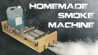 Making the Monster Fog Machine - Nicolas Salenc PBP