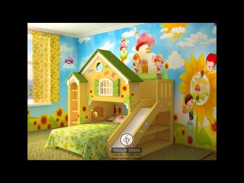 Дизайн детской комнаты №8