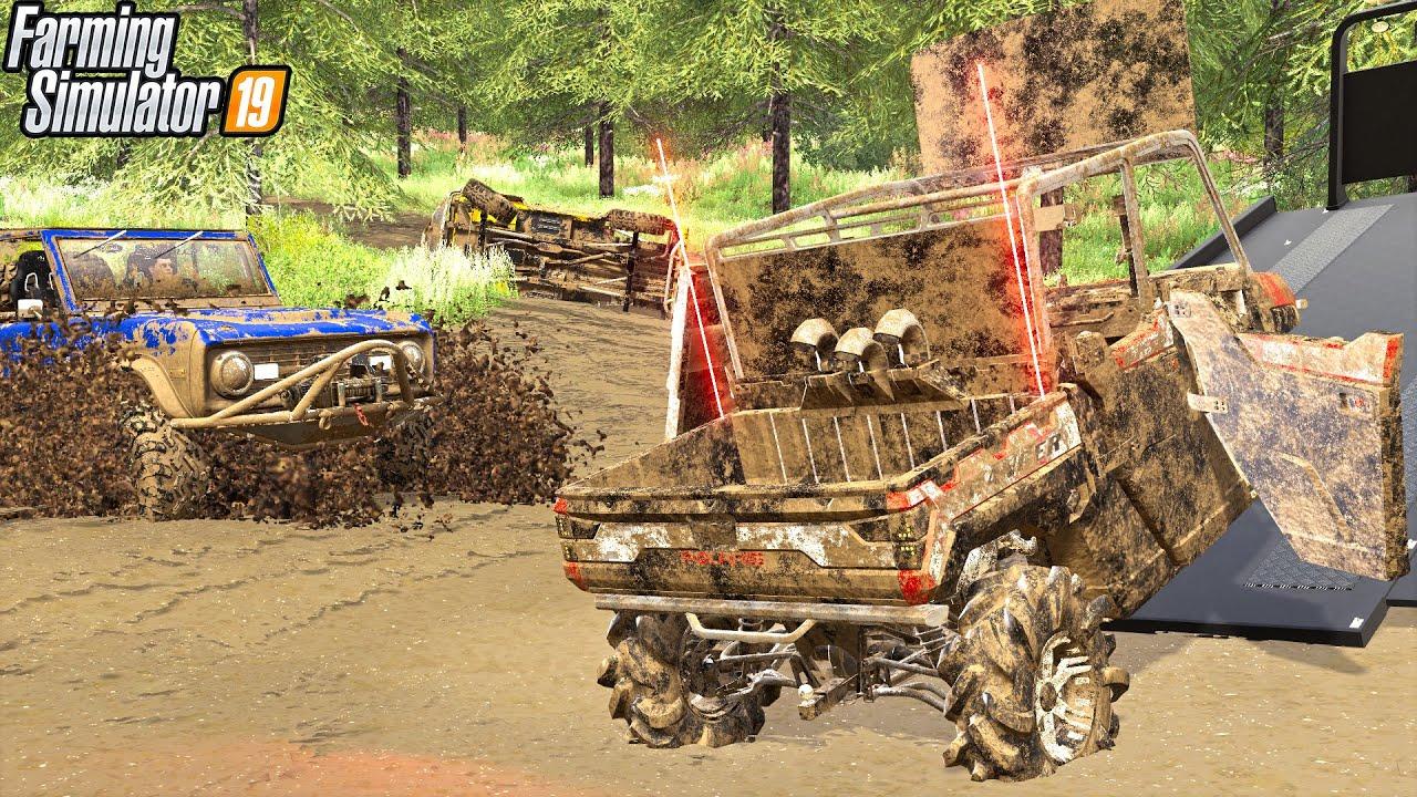 TOTALED POLARIS RANGER MUDDING (-$30,000)   NEW MUDDING PARK   FARMING SIMULATOR 2019