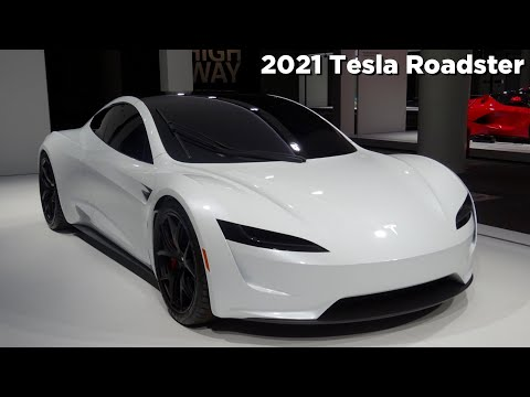 2020 Tesla Roadster Interior Exterior Presentation