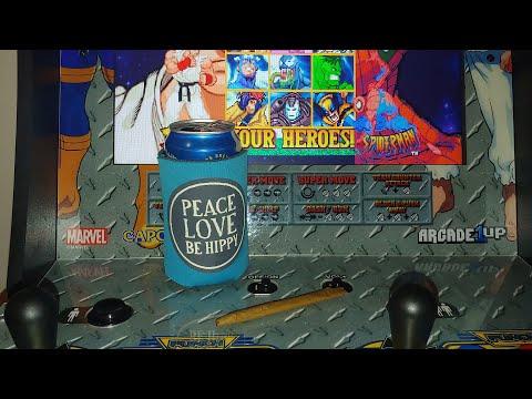 X Men VS Street Fighter Marvel VS Capcom (Arcade1Up) Friday Night Fights #8, Online play from Footie Laughs