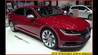 Volkswagen Arteon 2018 elegance Review and Drive
